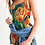 Thumbnail: Summer Flowers Women's Midi Bodycon Dress