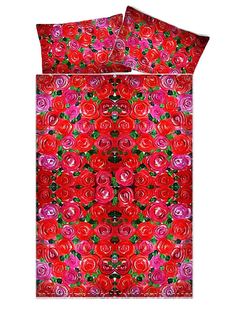 Red Roses Duvet Covers