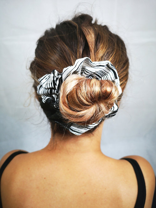 Mocha Splash Scrunchie