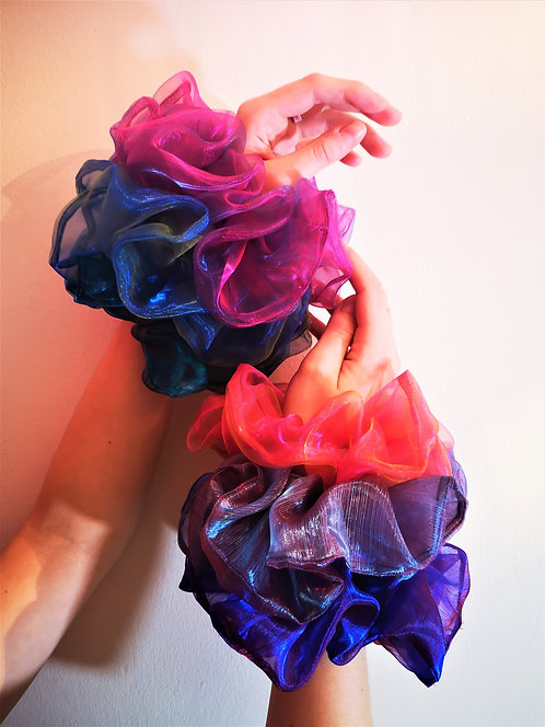 Mermaid Two Tone Scrunchies