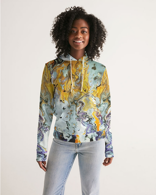 Pouring Gold Women's Hoodie