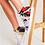 Thumbnail: Pouring Contrast Women's Hightop Canvas Shoe