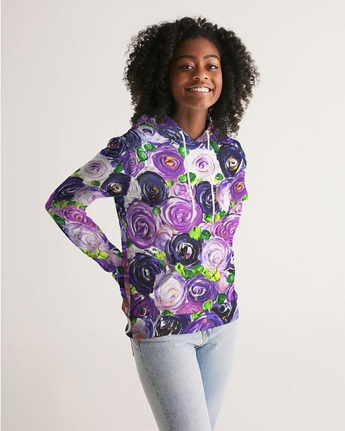 Purple Secret Garden Women's Hoodie