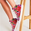 Thumbnail: Secret Garden Women's Hightop Canvas Shoe