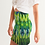 Thumbnail: Abstract Greenery Women's Mini Skirt