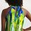 Thumbnail: Abstract Greenery Women's Halter Dress