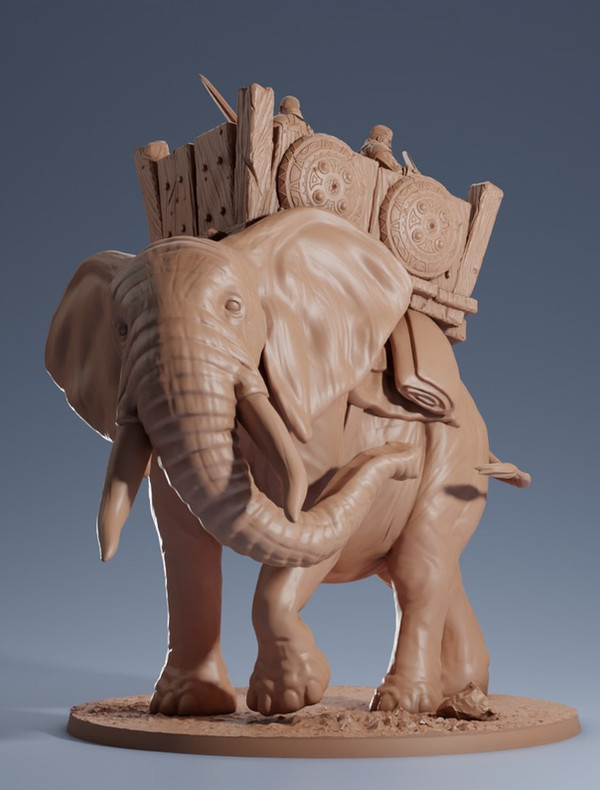 Wild & War Elephants