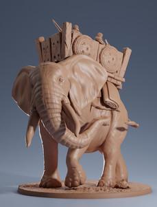 Wild & War Elephant