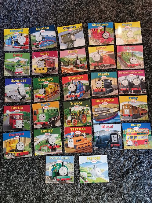 27x  Thomas the tank engine character books