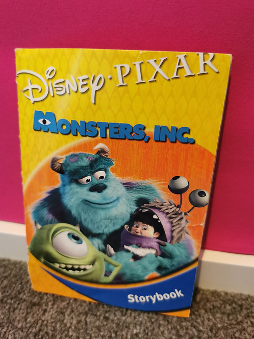 Monsters Inc story book