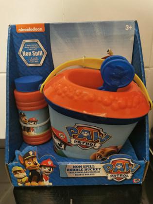 Paw patrol bubble bucket NEW