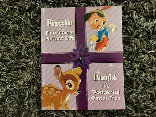 Pinocchio & Bambi 2in1 book