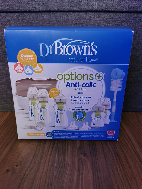 Dr Browns Deluxe Newborn Gift Set NEW