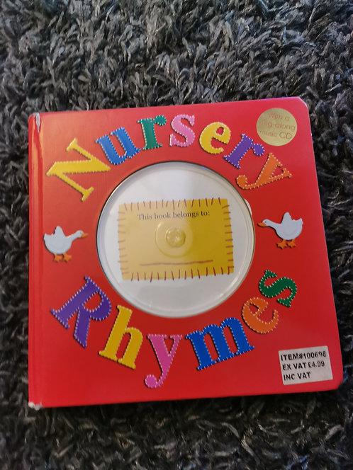 Nursery Rhymes Book - NO CD