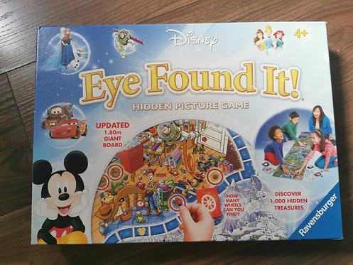 Disney Eye Found It Game - Complete