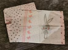 Girls single bedding set (duvet and pillow case)