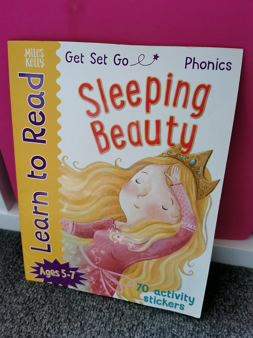 Sleeping Beauty Learn to read activity book