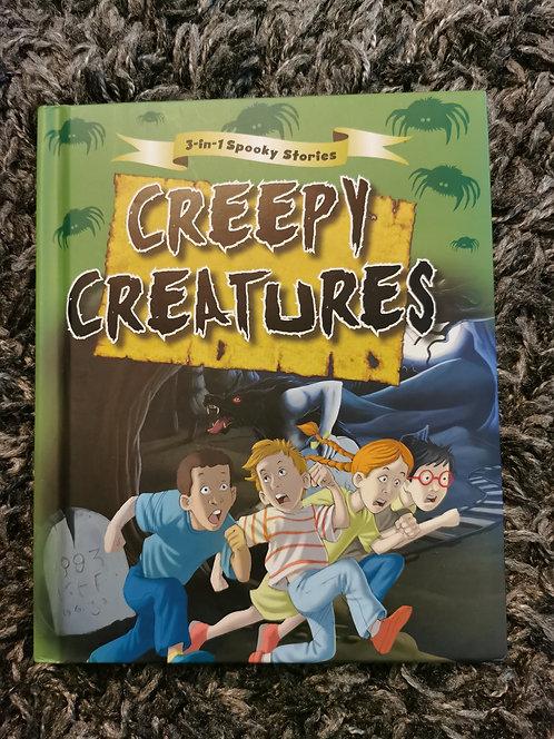 3in1 spooky stories - creepy creatures