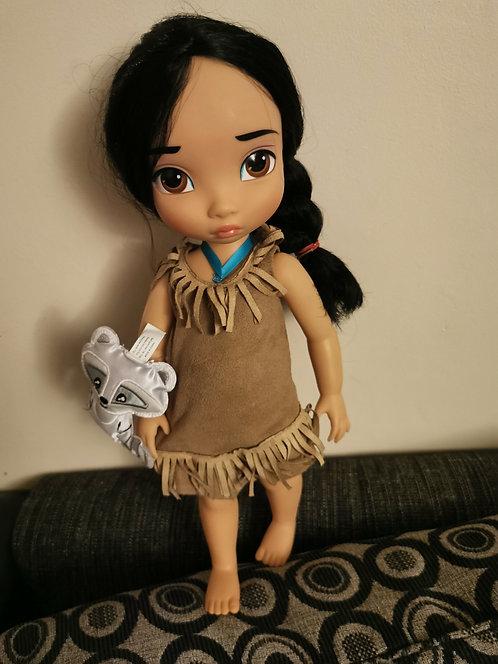 Pocahontas Disney animators doll