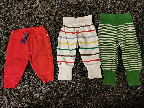 3x 3-6 Months trousers/bottoms