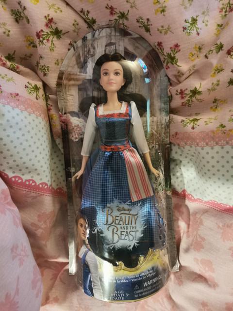 New Belle doll