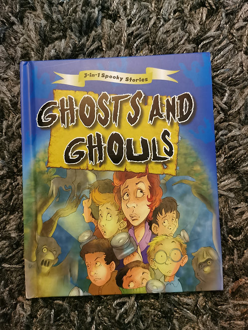 3in1 spooky stories - ghosts and ghouls
