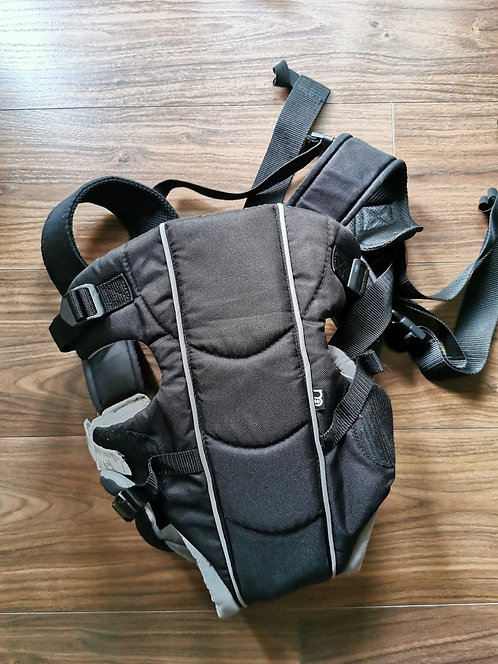 Black mothercare baby carrier
