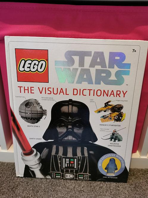 Lego star wars the visual dictionary (no mini figure)