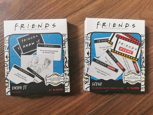 2x Friends Card Games NEW