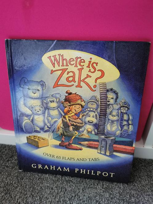 Where is Zak?