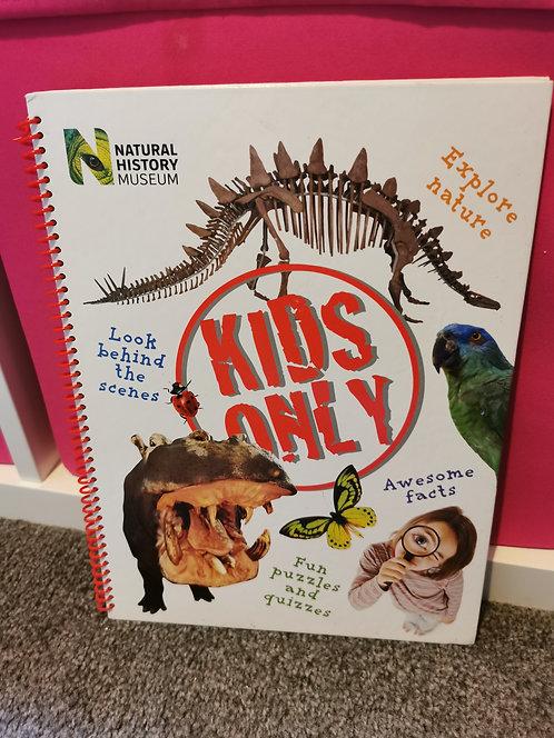 Natural history museum book