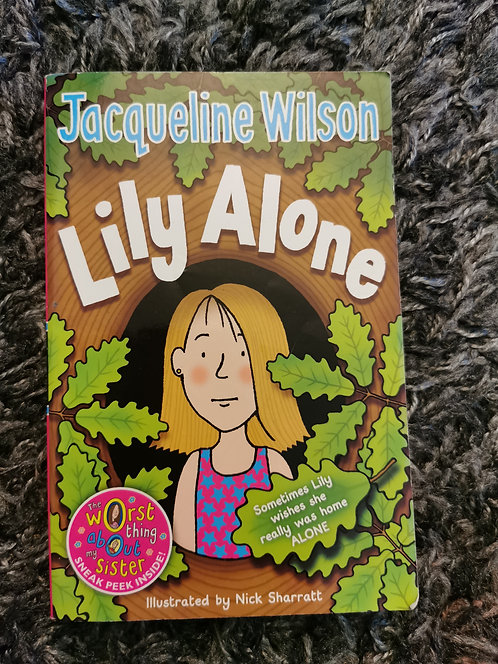 Jacqueline Wilson - Lily Alone