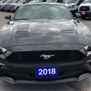 2018 FordMustang EcoBoost Fastback VIN# 5150285