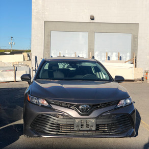 Toyota Camry LE 2019                    VIN#212255