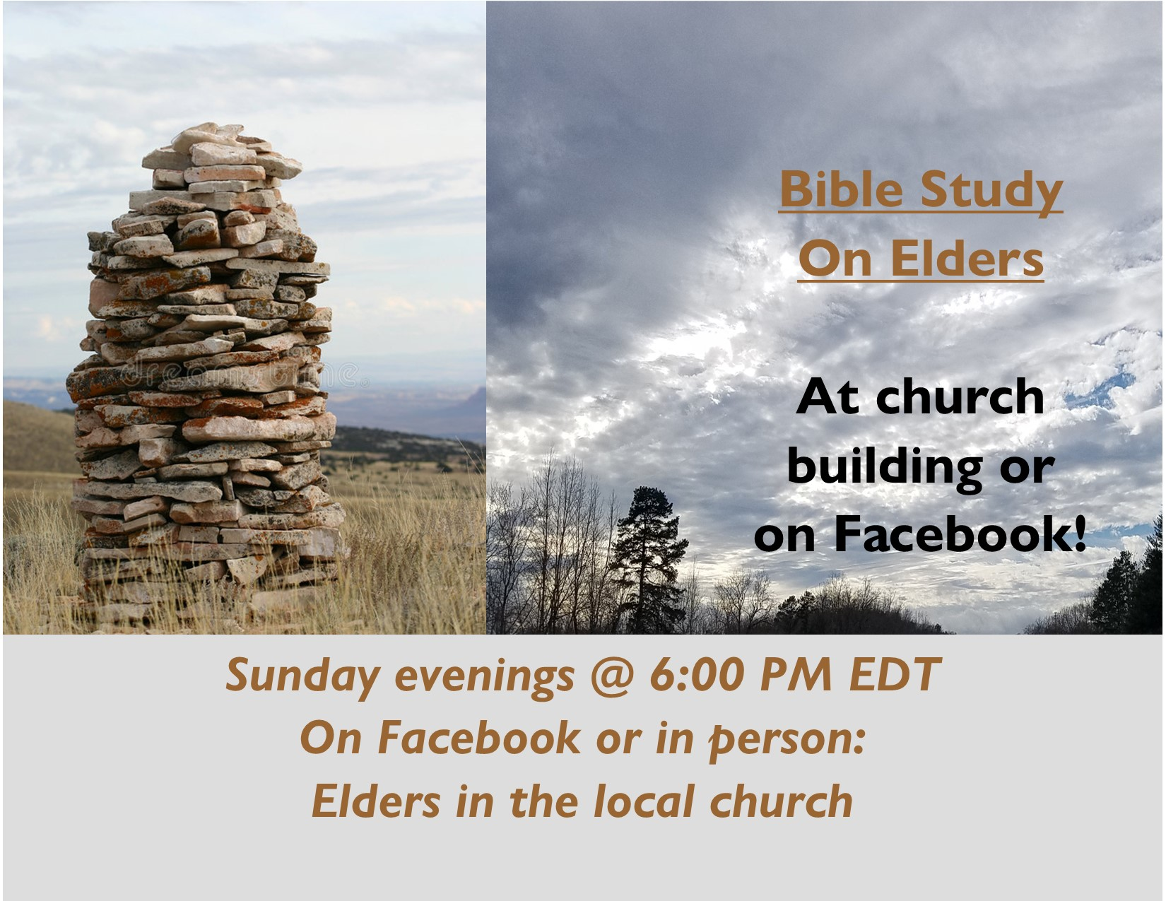 Elders Bible Study