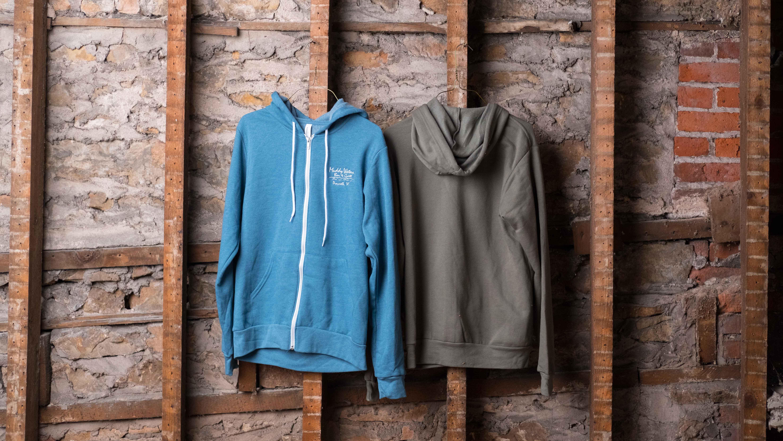 Unisex hoodie $40