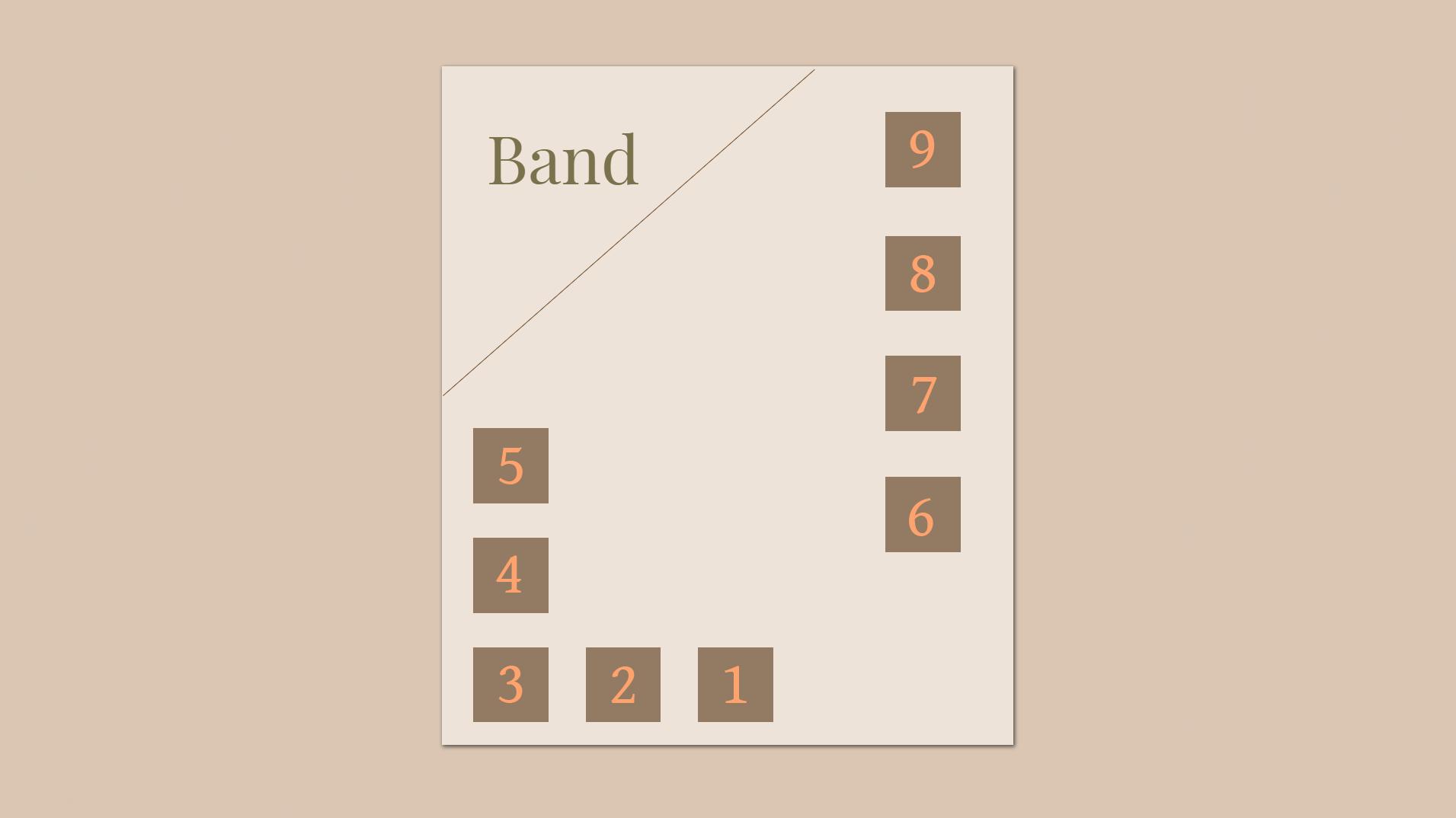 Band Table