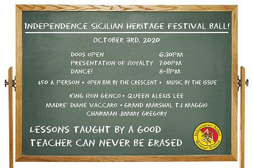 Sicilian Heritage Festival Ball