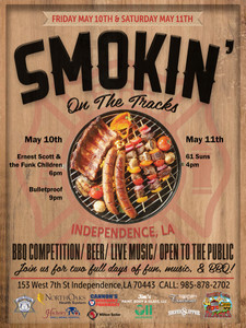 Smokin on the Tracks Poster 2019