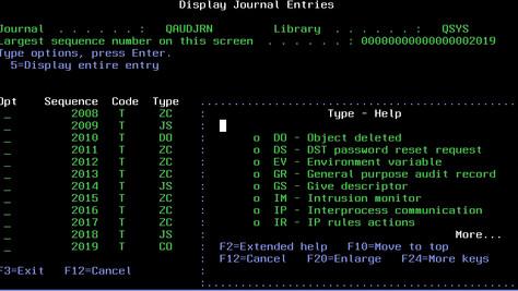 Gestión de Journals en el IBM i (AS/400)
