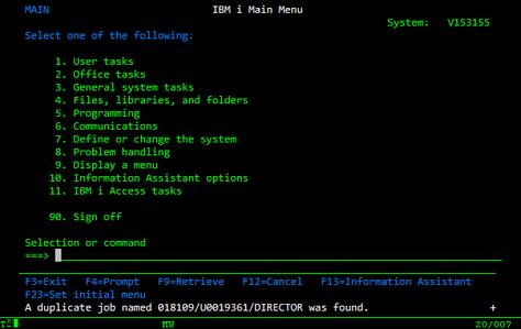 IBM i (AS/400) todavía está en el negocio décadas después de su nacimiento y existe una demanda de p