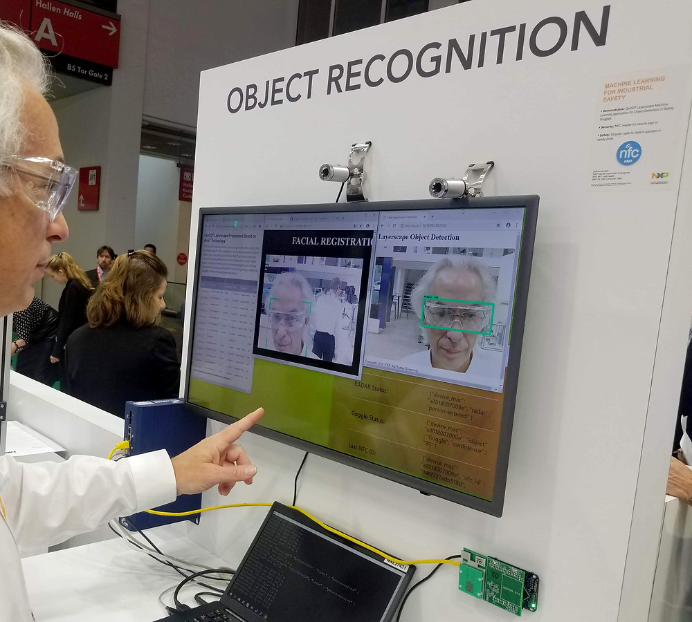 Goggle and facial recognition from NXP with IMAGO's VisionBox LE MANS