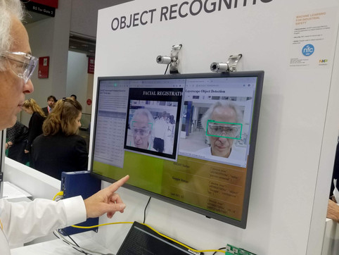 Facial recognition with the VisionBox