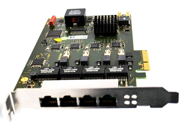 Smart GigE Interface PCIe Board