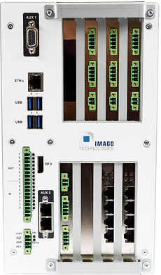 Multi-connection embedded vision PC