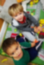 boys,toddlers, classroom, learning, ducks, roads, smiles, playing, fun