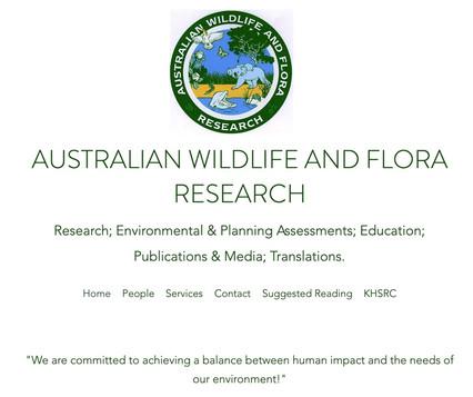 AWFR Website