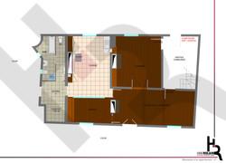 Appartement D - Plan Existant