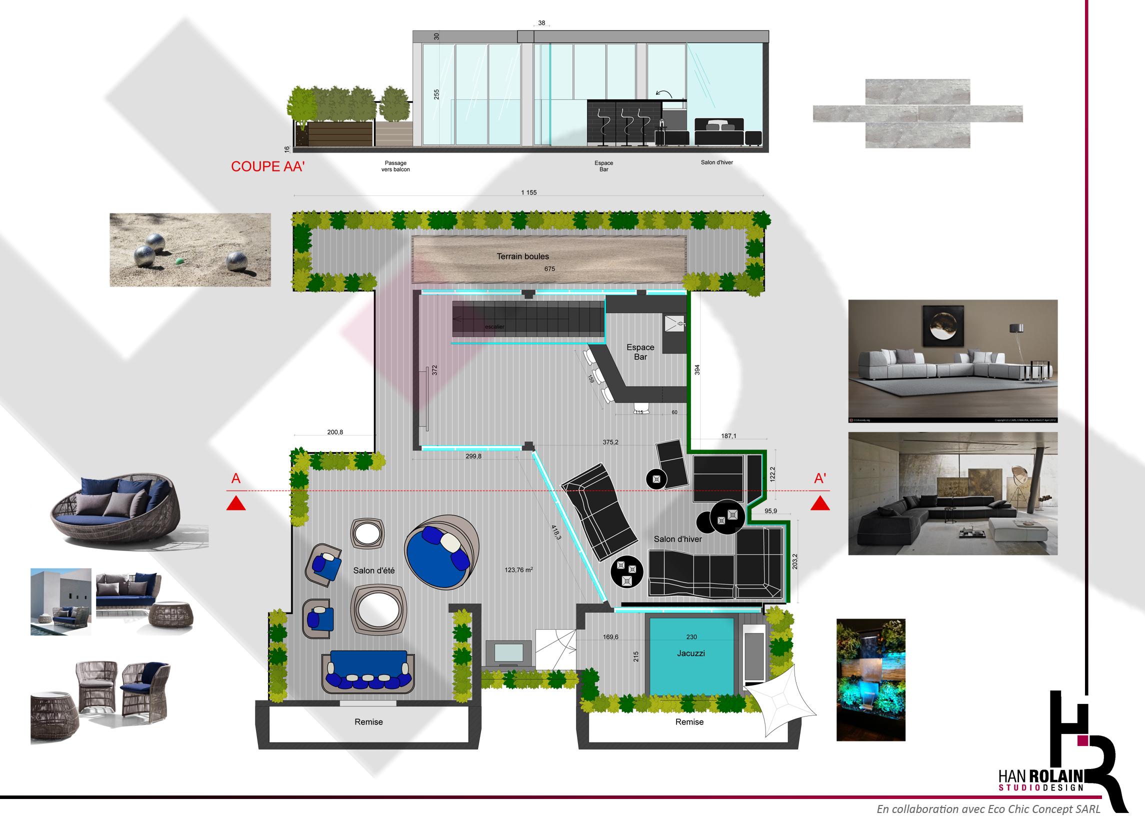Plan Projet Terrasse