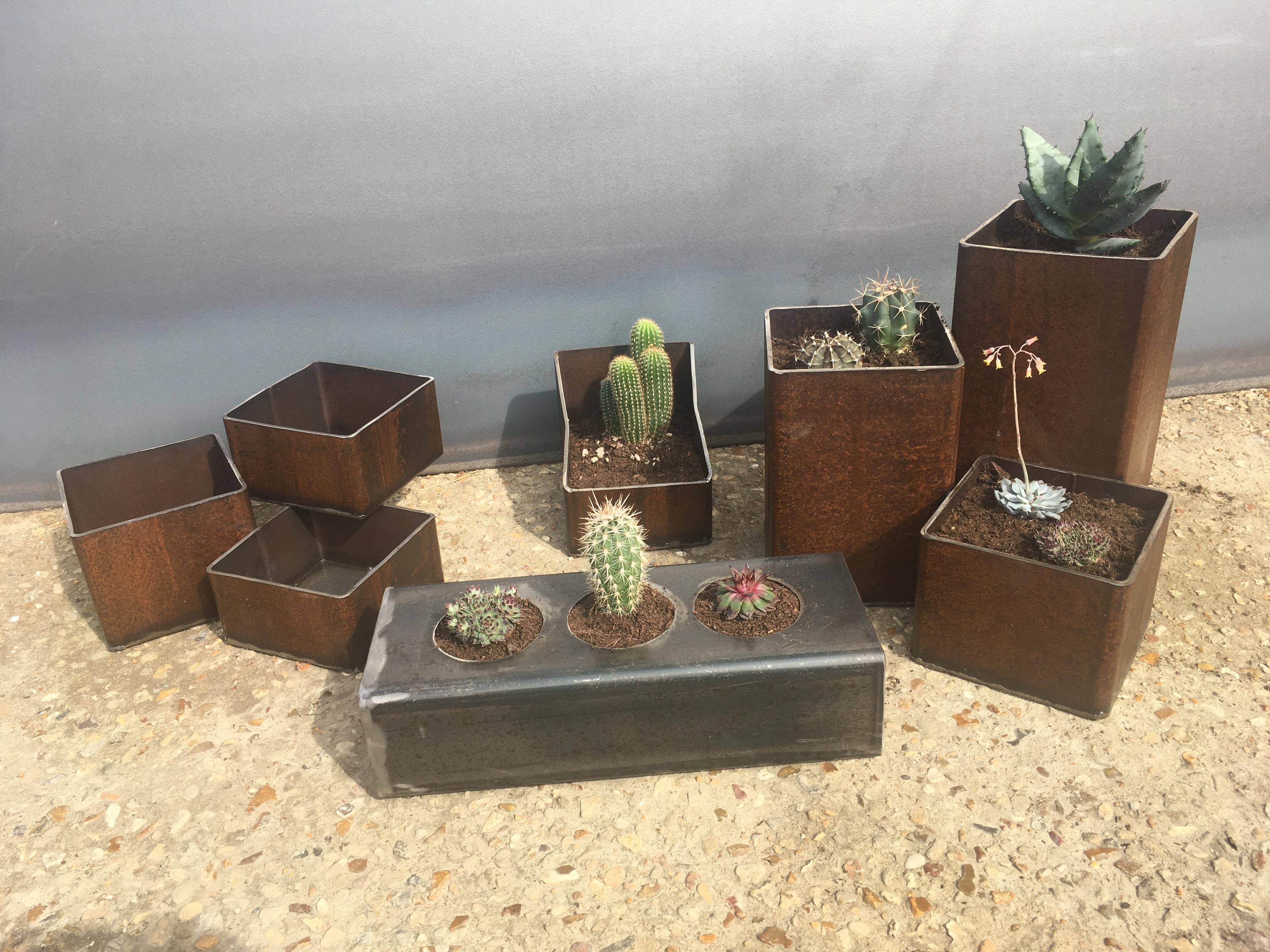 Ensemble jardinières